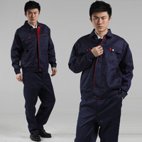 10sets-  work wear set male workwear work clothes long-sleeve tooling protective clothing  worker clothes subway work clothes