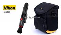 2in1 Lens Cleaning Pen Lens pen+Camera Case Bag for Nikon J1 J2 J3 V1 V2 V3 S1 L820 L810 L620 L610 L320 L310 P330 P320 P310