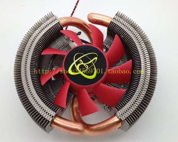 2 heatpipe general graphics card radiator overstretches copper pipe 43mm 53mm 9800gt gts250(China (Mainland))