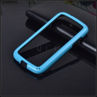Retail 2pcs hybrid rubber protective frame tpu Bumper phone bags case For samsung GALAXY Core I8260 DUOS GT I8262 original cover