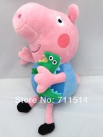 Free shipping Peppa pig toy  1 piece George Pig Plush Toy doll 19cm