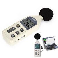 Digital Sound Level Noise Meter Pressure Decibel 30~130 dB USB Noise Measurement  Free Shpping