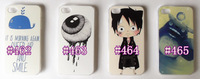 Beautiful lovely good quality cute  cartoon  Back Cover Case For iPhone 4/4s,#462, #463 ,#464 ,#465