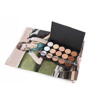 wholesale professional 15 colors Concealer Makeup Palette 15 colours Pores Camouflage cream Set 24sets/lot free EMS/DHL shipping