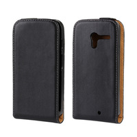 Real Leather Case For Motorola Moto X Flip Style