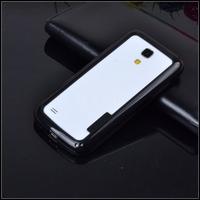 Hot sale Retail 2pcs hybrid rubber protective frame tpu Bumper phone bags case For Samsung Galaxy S4 mini i9190 original covers