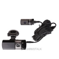 Car Vehicle AT580 Dual Lens Camera DVR HD HDMI Video Recorder 148 Degree New 84135