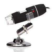 Lab Portable 5MP 50X-500X Magnification 8-LED USB Digital Microscope Endoscope Free shipping