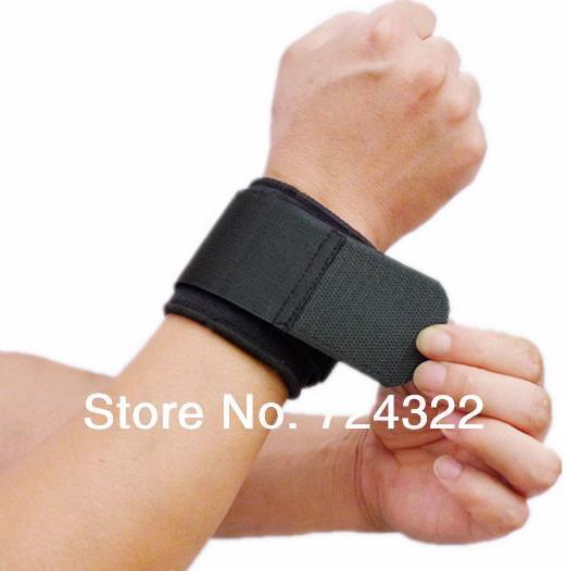 20PCS Adjustable wrist protection strap guards Sport cotton wristband tennis neoprene wrist wraps support Free Shipping(China (Mainland))