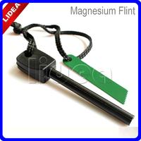 New 2014 Outdoor Camping Equipment Survival Tool Magnesium Flint Stone Fire Start Eremergency HK HW-02