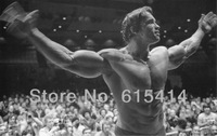 "005 Arnold Schwarzenegger - Terminator Great Muscle Player  38""x24"" inch wall Poster with Tracking Number"