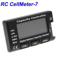 High Quality RC CellMeter-7 Digital Battery Capacity Checker LiPo LiFe Li-ion NiMH Nicd