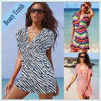 2014 Bohemian piece swimsuit bathing suit cover ups,sexy dresses,bathing suit dress,bikini holiday beach casual dress