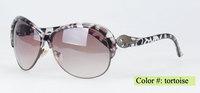 Factory price full rim plastic woman sunglasses 5 color choice in stock(Sun7238)