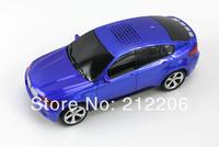 30pcs/lot BMW X6 portable digital high fidelity mini car speaker ,support TF card/USB with FM free shipping