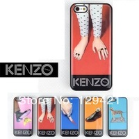 2014 New Design KENZOE The most popular case new design .Famous brand Steller Silicone Case for iphone 4 4S Free Shipping