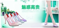 Fashion 2014 spring thin heels pointed toe fashion slip-resistant sexy female high-heeled shoes single shoes princess women's