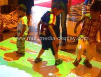 Interactive floor projection system,Interactive floor advertising solution (full version)