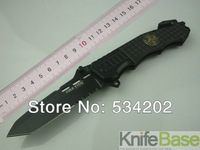 COLD STEEL - 229 New Arrival OEM Camping Survival Folding Tactical Knife 57HRC 7Cr17 Aluminium camping hunting tools