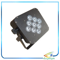 Hot 9*10w 4in1 RGBW/RGBA battery wireless led uplight stage light