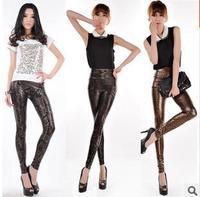 New 2014 Spring Women Sexy Chain Legging Sport Leggins Punk Fitness American Apparel Jeans Woman Pants Plus Size KR370