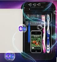 covered toothbrush holder/toothbrush stand/sterilizer box/esterilizador/odontologia/uv sanitizer/uv light sterilizer
