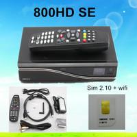 Hot Sale DM800se Dm800 hd se Satellite Receiver 300mbps WLAN Inside SIM2.10 BCM4505 400Mhz Tuner DM 800 se Wifi Free Shipping