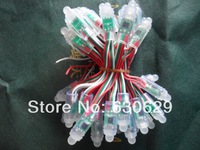 Free shipping 200pcs/pack 12mm IP65 Waterproof lpd6803 RGB LED Pixels Modules with 6803 IC Addressable Color DC5V