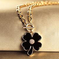 Four leaf clover short design necklace fashion short necklace female fashion accessories