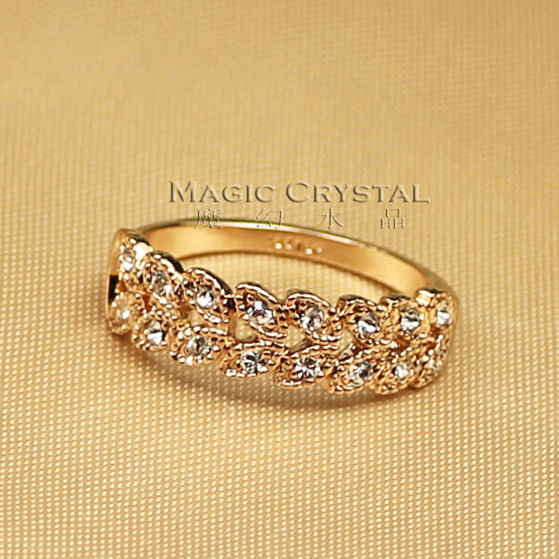High quality accessories fashion crystal ring female gift(China (Mainland))