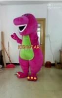 Mascot Barney Dinosaur Mascot Barney Dinosaur Mascot Costumes Halloween Cartoon Adult Size Fancy Dress Free