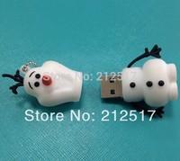 Free shipping 2014 New Frozen USB flash drive Frozen pen drive 4GB 8GB 16GB 32GB 64GB 128GB
