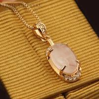 Rigant fashion ol gentlewomen - eye crystal short design necklace female gift