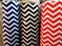 100% cotton canvas fabric sofa striped tablecloths home decor cushion cover blue-black red