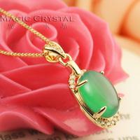 Rigant fashion ol gentlewomen green - eye gem female lovers gift