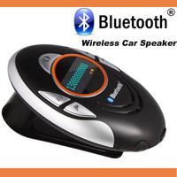 High Quality Stylish LCD Screen Speakerphone Mini Wireless Bluetooth Car Kit Sun-shading  Car Speaker BT8110 Free Shipping