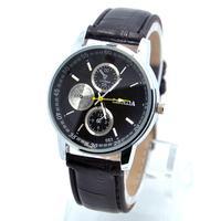 Hot Selling Cheap Price High Quality Leather Strap Watch Men Fashion Sports Quartz Wrist Analog Watch londa-14