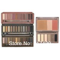 5pcs/lot wholesale NAKE Basics Makeup 1 2 3 eyeshadow palettes 3 Colors Nake Flushed Blusher palette