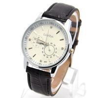 Wholesale Promotion High Quality Leather Strap Watch Men Fashion Sports Quartz Wrist Casual Watch londa-21