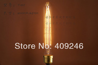 T185 Marconi Light Bulb Lamp Vintage Edison Reproduction 40 Watt 60 Watt Clear Glass E27 AC220V