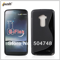 For LG G Flex Case ,S Line Gel Soft TPU Cell Phone Case For LG G Flex Free Shipping