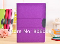 Luxury Shiny Leather Case Cover for ipad 2 3 4, 20pcs free DHL/EMS
