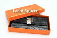Famous Luxury Designer Brand Women handbags Hasp Solid long Wallet Wholesale Free Shipping