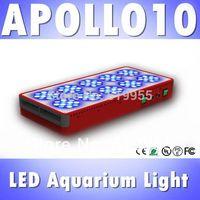 Apollo 10 120*3W LED aquarium light full spectrum reef coral tank light 3W lens, White 12000k &Blue 460nm (Customizable)
