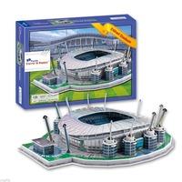3D Puzzle Model Etihad Stadium Manchester City FC Football Club Home Souvenir 139 Pcs In Box