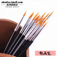 3g art supplies painting materials nylon paint brush calligraphy brush gouache painting oil painting pigment pen sketch pen