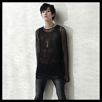 free shipping  net influx of men cultivating long-sleeved t-shirt long-sleeved t-shirt 57 5 4TTT