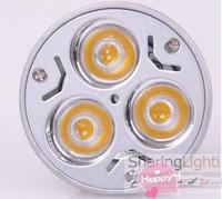 10PCS/Lot Free Shipping GU10 3W LED spotlight Bulb Warm White Cool White Red Green Blue LED celling light down light lamp