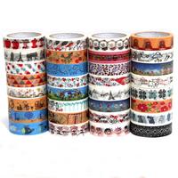 Free shipping fita adesiva fancy office cartoon masking tape cute decorative stationery sticker fashion printed washi tape