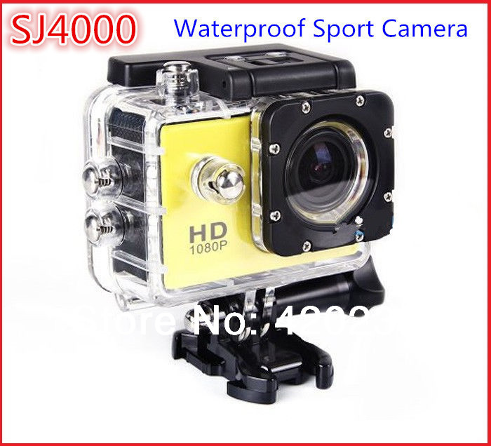 SJ4000 Sport Action Camera Diving Full HD DVR DV Min 30M Waterproof extreme Sport Helmet Action Camera 1920*1080P G Senor(China (Mainland))